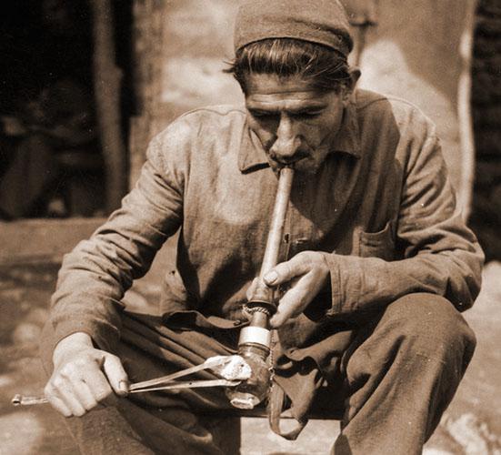 Persian Opium Smoker